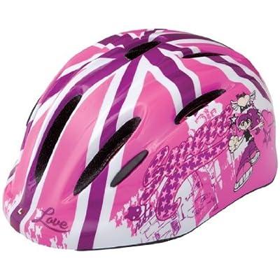 Limar Girl's 149 Sweet London Helmet - Pink, 50-57cm by Limar