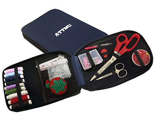 Why Should You Buy Attmu Best Portable Sewing Kit, Offers 100 Premium Sewing Accessories for Travel ...