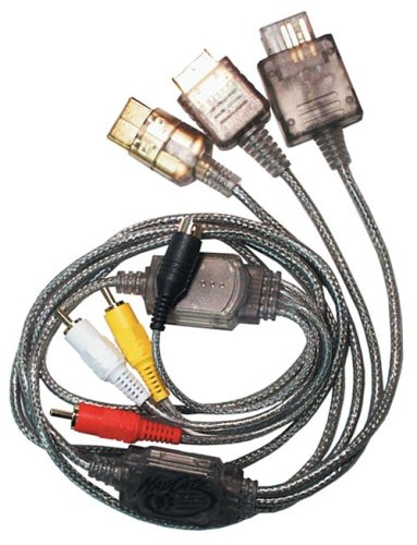 MADCATZ 6015 Universal Game System S-video/audio Cable (Gamecube Console Cables compare prices)