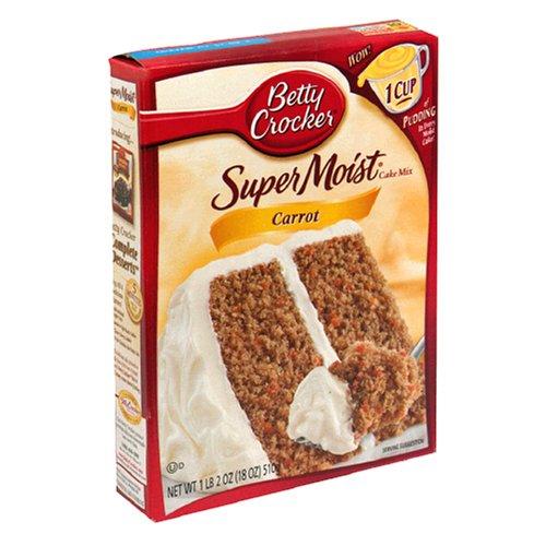 Carrot cake box recipe