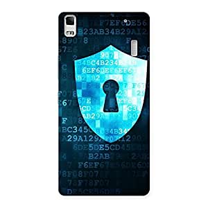 Delighted Cyber Secur Print Back Case Cover for Lenovo A7000
