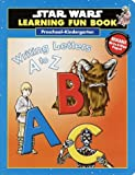 Star Wars Learning Fun Book Writing Letters A to Z (Pre-K)