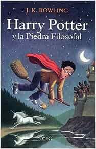 Harry Potter y la piedra filosofal: J. K. Rowling: 9789500419574