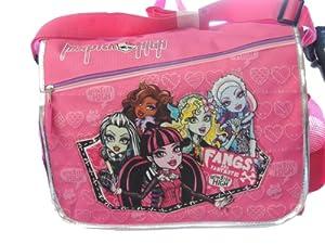 Monster High Pink Messenger Bag by Mattel