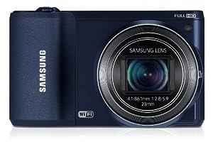 """Samsung WB800F Appareil photo numérique 16,3 Mpix Ecran 3"""" WiFi USB CMOS Noir"""