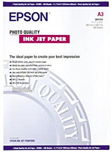 Epson Photo Quality - Matte coated paper - A3 (297 x 420 mm) - 102 g/m2 - 100 sheet(s)