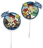 Wilton Industries 2113-2375 Disney Jake and The Never Land Pirates Fun Pix Cupcake Decor