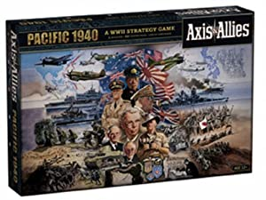 Axis & Allies Pacific 1940 Deluxe Anniversary Edition Board Game