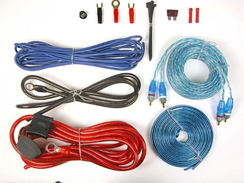 Brand New Tsunami Amp350so-rca Complete Car Amplifier Installation Kit with Everything Needed for Your Install Including Rca's, Speaker Wire, Fuse, Etc