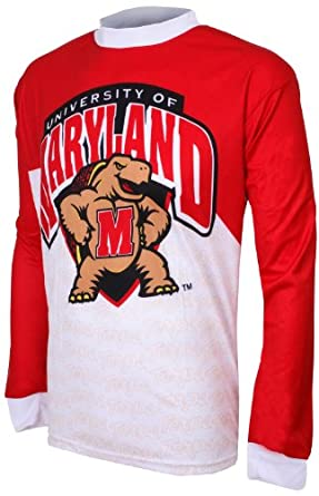 NCAA Maryland Terrapins Mountain Bike Cycling Jersey by Adrenaline Promotions