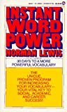 Instant Word Power (Signet)