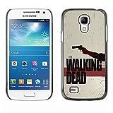 ELEGO Slim PC / Aluminium Sleek Case Cover Armor Shell Case Cover Armor PC Aluminium Protection Protection /The Walking Zombies /Samsung Galaxy S4 Mini