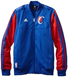 Los Angeles Clippers adidas Home Weekend 2012-2013 Authentic On-Court Jacket - Royal... by adidas