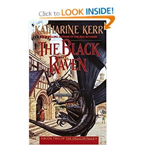 The Black Raven (Dragon Mage, Book 2) by Katharine Kerr