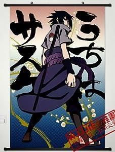 Home Decor Naruto Uchiha Sasuke Cosplay Wall Scroll Poster 35.4 X 23.6 Inches-496