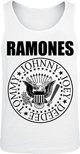Ramones Seal Canottiera bianco XL