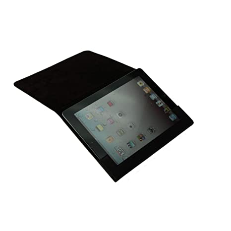 Lucrin - Etui rigide pour iPad Retina Display - Vachettelisse - Cuir - Marron