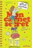 echange, troc Natalie Zimmermann, Joëlle Passeron - Mimi la fouineuse : Mon carnet secret : Rien qu'à moi