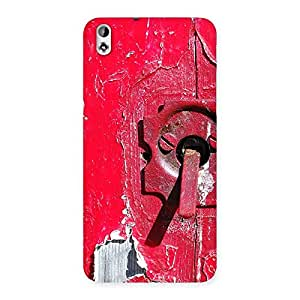 Ajay Enterprises Wo Red Door Back Case Cover for HTC Desire 816g