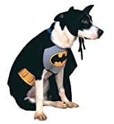 Batman Dog Costume Size Small