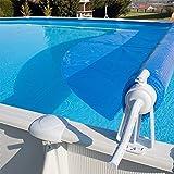 Aufroller Pool Abdeckung Solarfolie Schwimmbad max 6