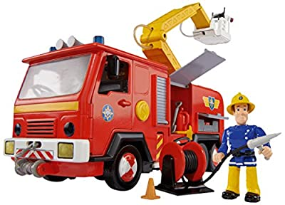 Feuerwehrmann Sam - Fahrzeug Jupiter mit Figur