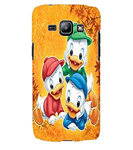 ColourCraft Lovely Cartoon Characters Design Back Case Cover for SAMSUNG GALAXY J1