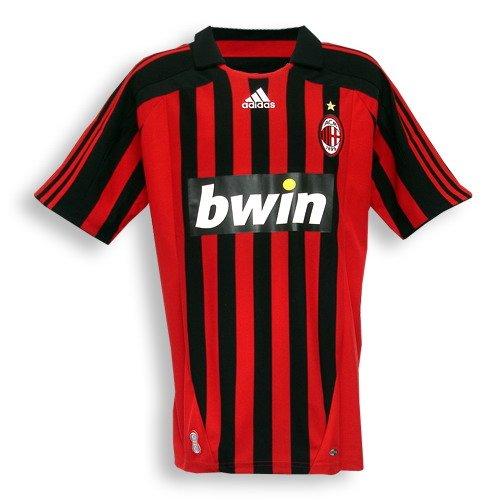 Adidas AC Milan Jersey - Home - 2007 - 2008