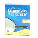 Dr. Morepen BG03 Gluco One 25 Test Strips