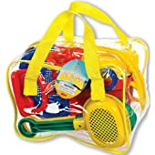 Toysmith 8-Piece Beach Gear Set in Bag