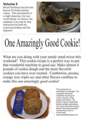 One Amazingly Good Cookie