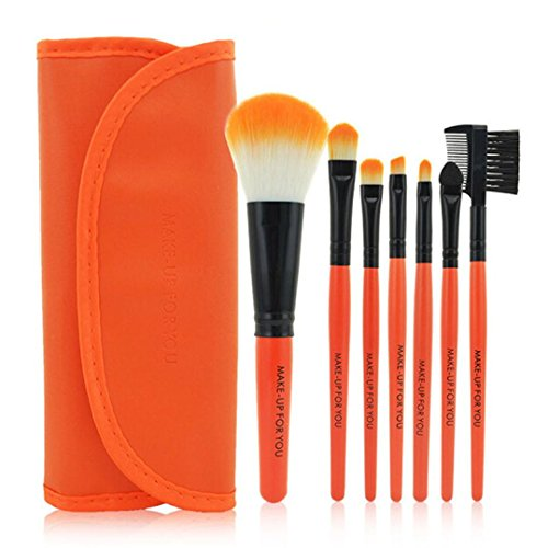 Pinceaux Maquillage, Makeup Brushes Set, Kolylong® 1 Set / 7 PCS Bois Pinceau De Maquillage CosméTique De Maquillage Outils De Beauté Brosses