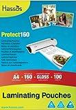 100 A4 Laminating Pouches 160 Micron (2 x 80 micron) Gloss Laminate Pouch