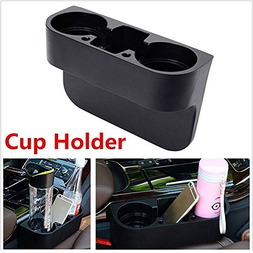 2 Cup Holder Drink Valet Beverage Seat Seam Wedge Auto Car Truck Mount Universal (2007 Toyota Yaris Trunk Liner compare prices)