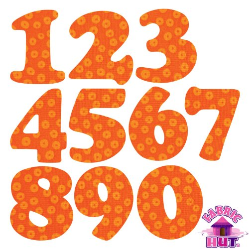 AccuQuilt GO! Fabric Cutting Dies Carefree Numbers 3'