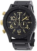 Nixon 42-20 Chrono Matte Black/ Gold Unisex Watch