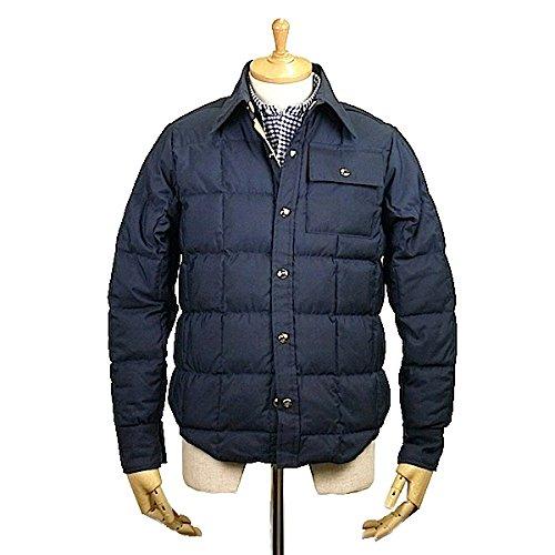 CRESCENT DOWN WORKSクレセントダウンワークス Down Shirt 60/40 Cloth Navy x Khaki ダウン シャツ ダウンジャケット