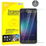Galaxy Note 5 Screen Protector, JETech® 2-Pack Premium Tempered Glass Screen Protector Film for Samsung Galaxy Note 5