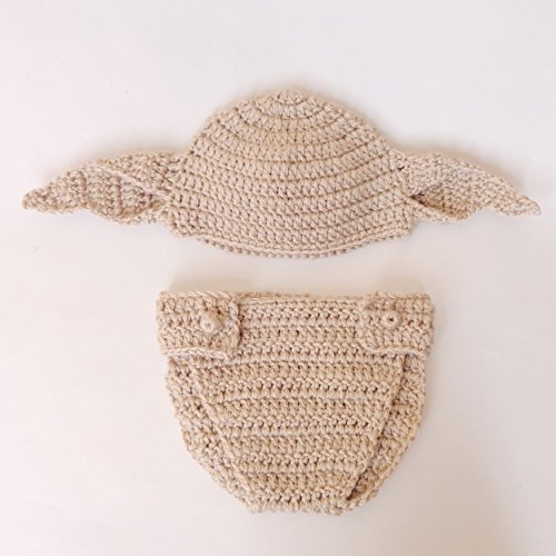 Dobby The House Elf Hat And Diaper Cover From Harry Potter - Newborn - Halloween / Cosplay / Baby Shower Gift