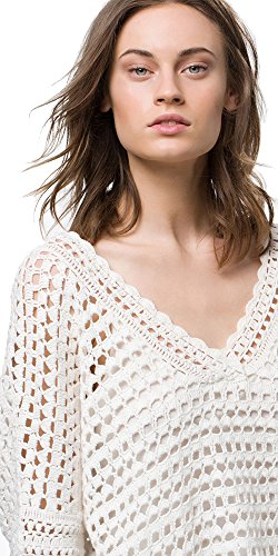 цена Massimo Dutti (Zara Group) Women´s Ivory Crochet Cape 5658/580 онлайн в 2017 году