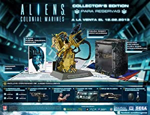 Alien Colonial Marines Collectors Edition
