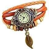 Floray homme et la femme bracelets en cuir, montre-bracelet. Longueur: 18cm - 20cm