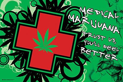 24-x-36-Medical-Marijuana-Vous-Sentir-Mieux-Humour-Poster