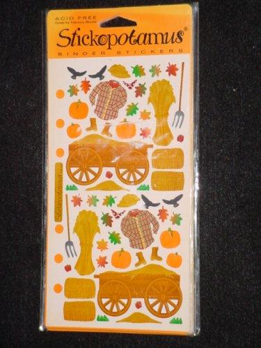 Halloween Stickers - Hayride - 1