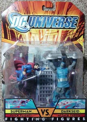 Buy Low Price Mattel Superman vs. Darkseid from DC Universe Classics Fighting Figures Action Figure (B002CD8GVS)