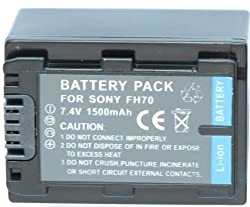 NEEWER NP-FH70 Battery For Sony HandyCam DCR-DVD108, DCR-DVD308, DCR-DVD408, DCR-DVD...