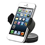 iOttie Easy Flex Windshield Dashboard Car Mount Holder Cradle for iPhone 5 4S 4 3GS iPod Touch Samsung Galaxy S4 S3 S2 Nokia Lumia 920 HTC OneX EVO 4G Rhyme DROID RAZR MAXX Google Nexus LG Optimus G BlackBerry Z10 Torch Compact Size GPS