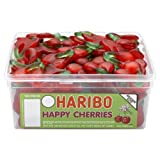 Haribo Happy Cherries 120 Pieces Per Tub
