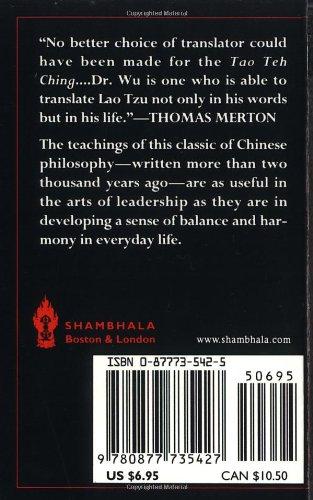 Tao Te Ching (Shambhala Pocket Classics)