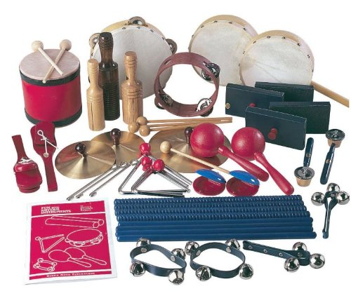 School Smart Deluxe Rhythm Band Music Kit for 30 Players